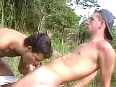 Gay sexual act gangbang