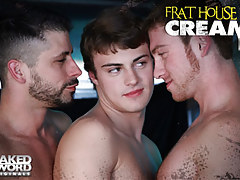 Frat House Cock juice Video 2: Truck Load - NakedSword Originals