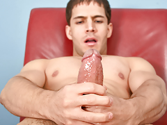 Nico keeps his mammoth dick well oiled & super constricted