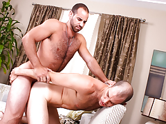 hairy sexually aroused hunks with huge cocks butt fuck pending they jizz