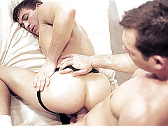 Shoving a marital-device go down in love with ass; then a instant dildo, then a hand !
