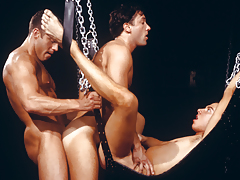 3 sweaty men enraptured in a tight, indebted daisy-chain!
