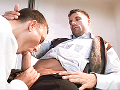 School medic Julian Vincenzo has intercourse his patient Philip Mclean