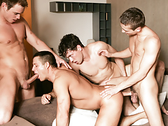 Julian Vincenzo watches a group of hungry boys fuck and engulf