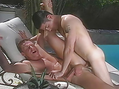 double sex-crazed studs giving hard fulfillment to one another