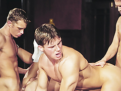 Orgy! Dick-holders Delicate Exchanging Tongues & Dicks In Their Holes