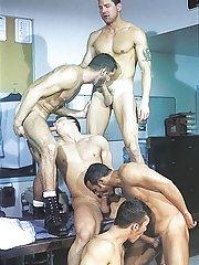 Marcus Iron::Karl Tenner::Nicholas Clay::Fernando Montana::Blake Harper in Gay XXX Pictures