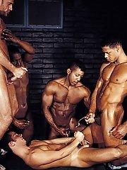 Mitchell Stack::Jack Simmons::Aron Ridge::Tristan Paris::Jason Branch in Homosexual XXX Pics