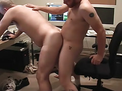 Matured twinks pooch mcgee and david marx learn office place to bang in 4 episode