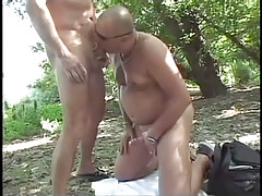 Ready gay fucking in the bright forest in 2 motion picture