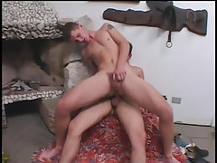 Two lustful twinks getting in a fuck fest in 5 episode