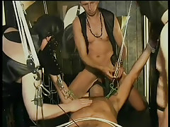 Twink leather and subjection fuck fest in 4 episode
