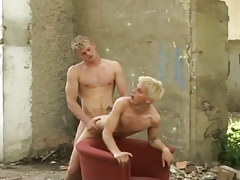 Naughty fairy-haired dick-holders taking in and astonishingly bareback outdoor in 4 motion picture
