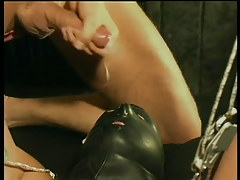 Gay leather and slaving fuck fest in 6 episode