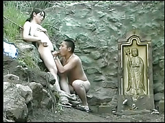 Asian gay cock swallowers sexually enticed for a hard prick outdoor in 2 episode