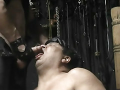 Corpulent cock-sucker lycan is desperate for a hot cock cream mouthful in 4 movie