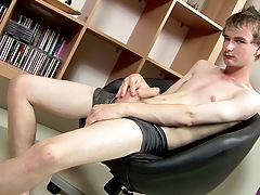Masturbating With New Hung Twink Cory - Cory Finn