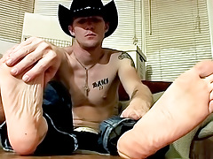 Cowboy Feet And Weenie Stroking! - Ty And Lee Barstow