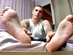 Sock On Cock Having benefit from With Evan - Evan Heinze