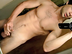 POV Jock Stroking In The Baths - Zack Randall
