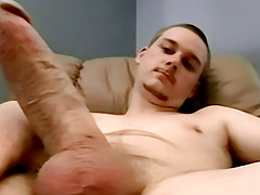 A Self Jizz Facial With Str8 Blaze - Blaze