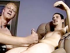 Straight Chaps Smokin' Pole! - Nimrod And Blaze