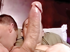 Servicing A Large Str8 Wang - Blaze