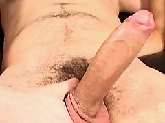 Gay takes his first enormous cock