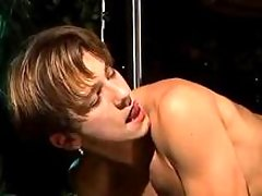 Twinks having banging pleasure and jizz right on the stage