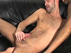 Gay takes his first massive pecker