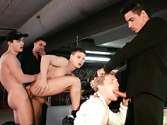 Julian Vincenzo, Lucio Maverick, Michael Kozec, Jose Scott And Drago Lembeck Fuck