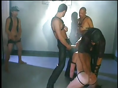 Faggot play room sex scene with leather in 2 motion picture
