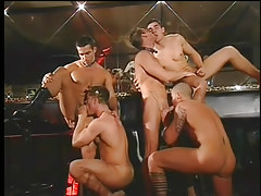 Twink club drinking all together turns likes big dong orgy in 2 movie