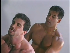 Twink muscle studs have hot anal in garage in 4 episode