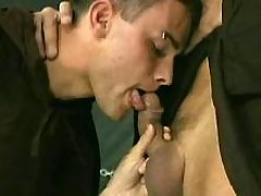 Gay monks fuck in dungeon