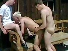 Handsome gays in anal doing