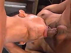 Asian gay slut punishment his greedy mouth on knees