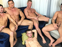 American Muscle Hunks & Jason Sparks Live in Chicago