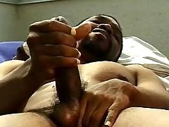 Black gay guy pleasant useful anal reaming