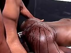 Lustful black man-lovers have a fun it tight