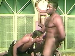 Nasty black man-lovers anal-fucking heavily