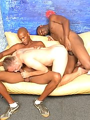 Interracial faggot porn