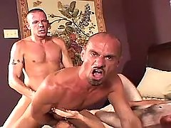 Lusty calm homo jazzes rigid males opening