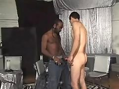 Black man-lover receives massive booty nailing