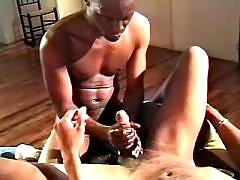 Lustful swarthy studs fuck brains out
