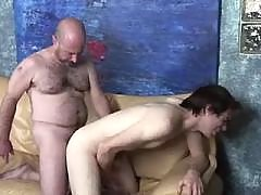 Insatiable bear pines for faggot meat