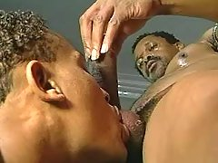 Nasty ebony gays assfucking heavily