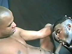 Narrow black ass plugged real raw