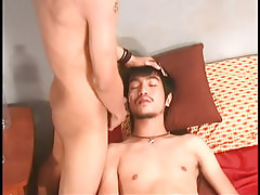 Asian boy gains clammy facial