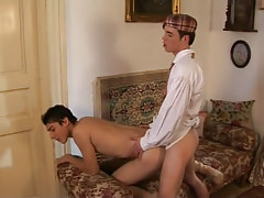 Nice lads fuck in doggy style